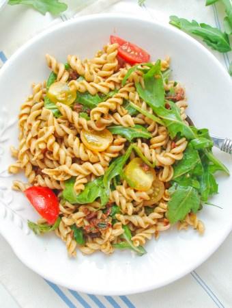 Sun-Dried Tomato Pesto Pasta Salad