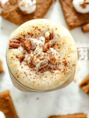 Healthy Pumpkin Spice Latte