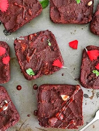 Heavenlynn's Friends: Baked kidney bean brownies by Büsra