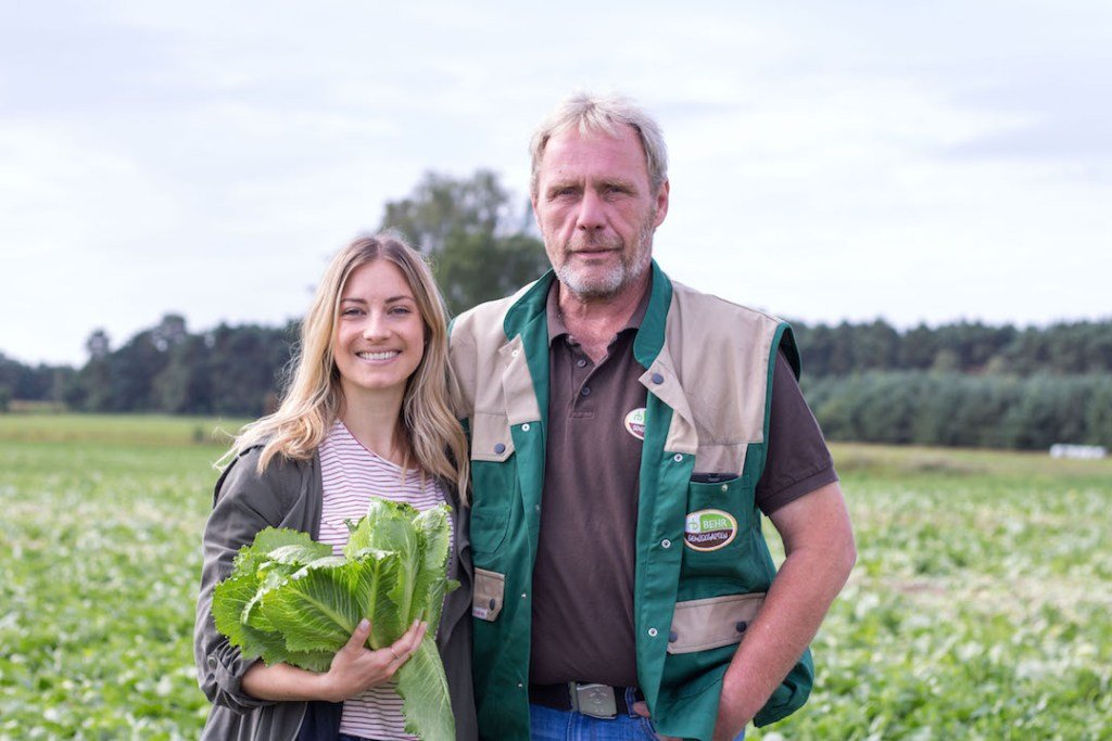 My day at a local vegetable farm