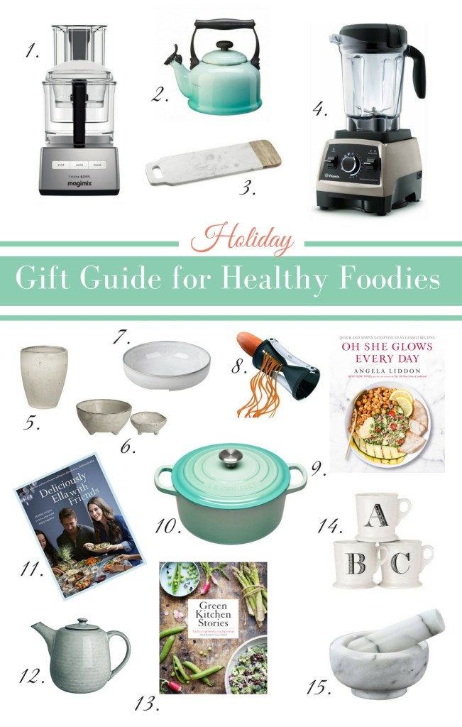 2016 Gift Guide for Healthy Foodies - heavenlynnhealthy.com