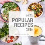 My reflection & Your most popular recipes of 2016