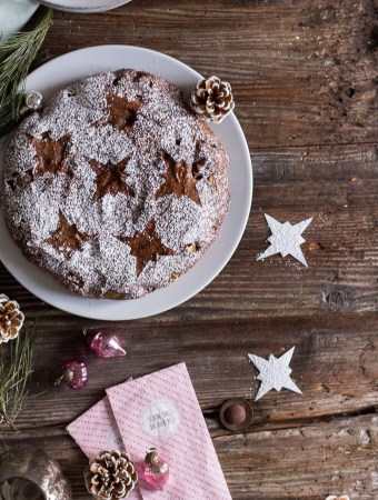Spiced Holiday Buckwheat Cake