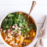 Cannellini Bean Stew with Hazelnuts and Dill