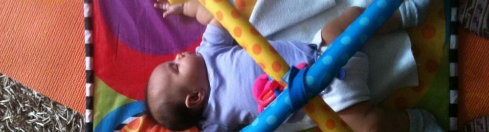 Jasmin fell asleep playing