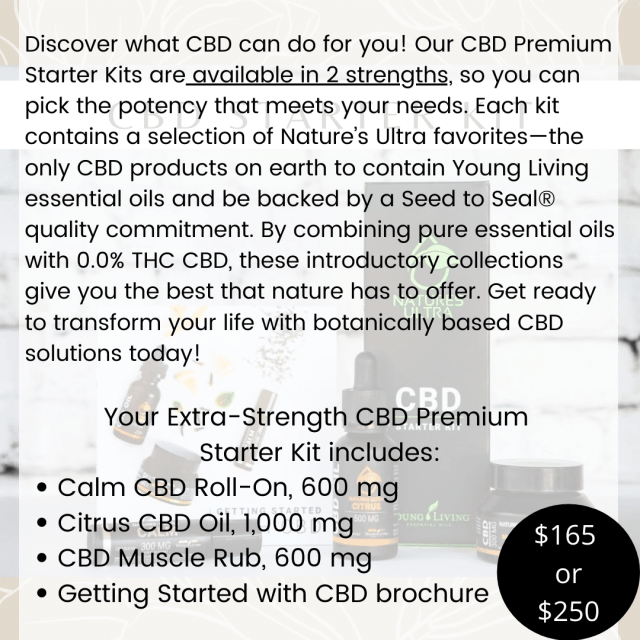 CBD kit info