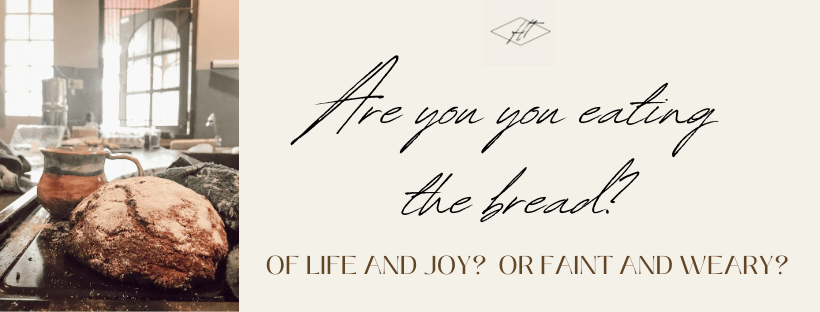eating the bread of life blog banner