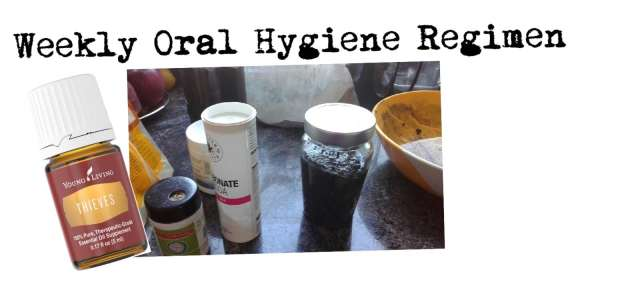 weekly oral hygiene regimen