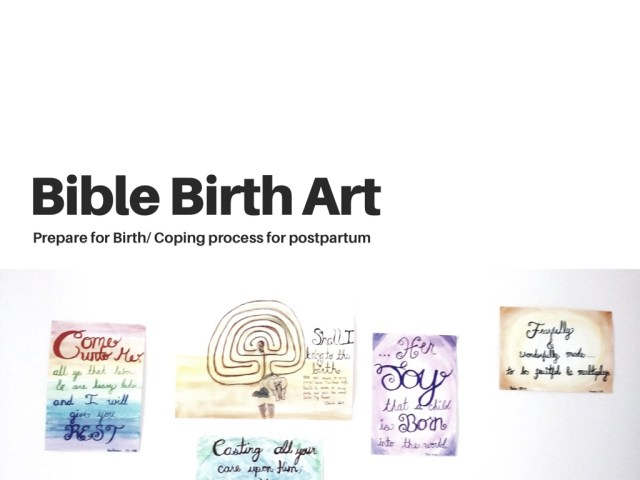 bible birth art