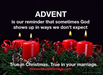Advent of Your Marriage