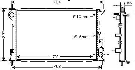 NEU + Kühler > Ford Transit MK 5 Connect [ 1.8 TDCi / 1.8