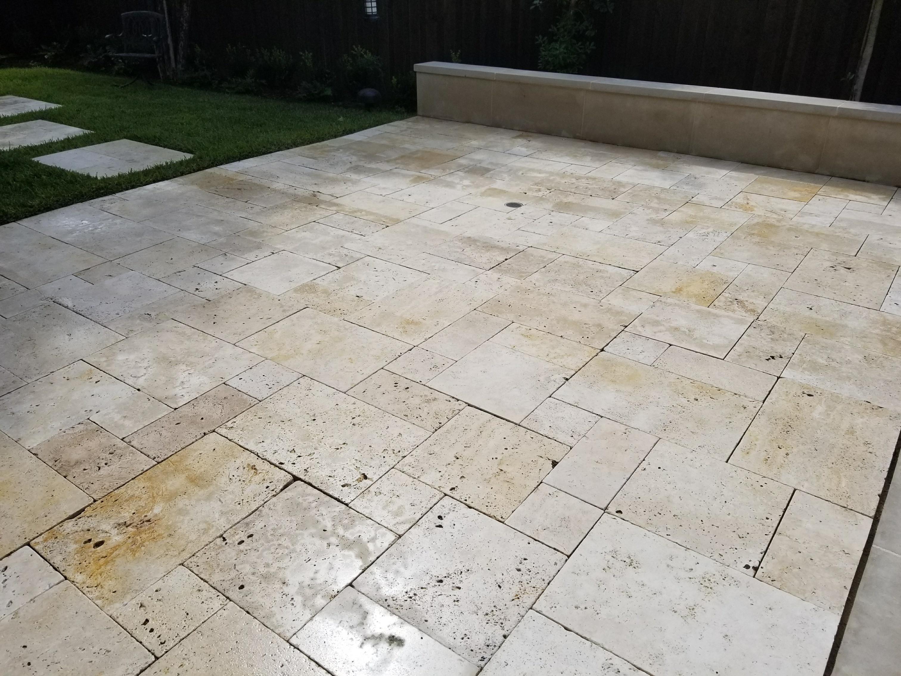 travertine marble polishing dallas dfw tile restoration tile cleaning