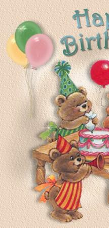 kids christian birthday card