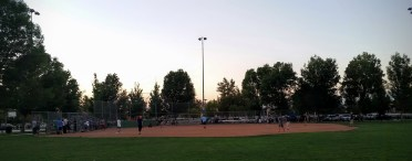 Softball game