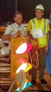 Traffic Light + Worker