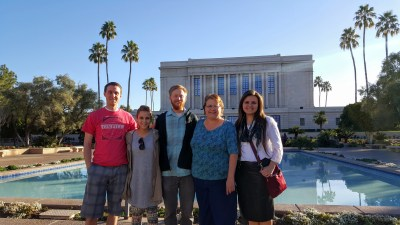 Group Shot, Mesa Temple