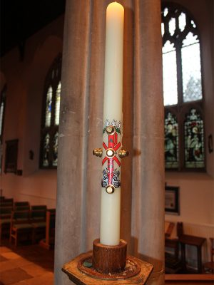 the Paschal Candle