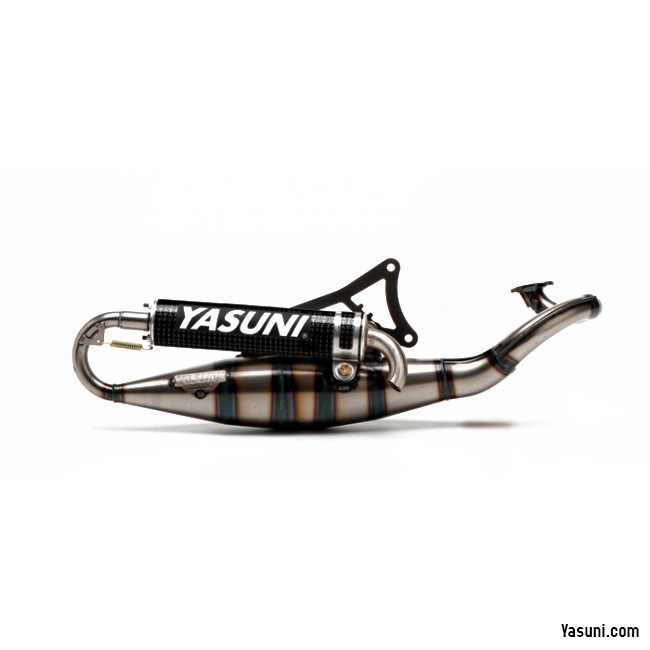 Auspuff Yasuni C30 für CPI GTR LC Hussar Oliver City Sport