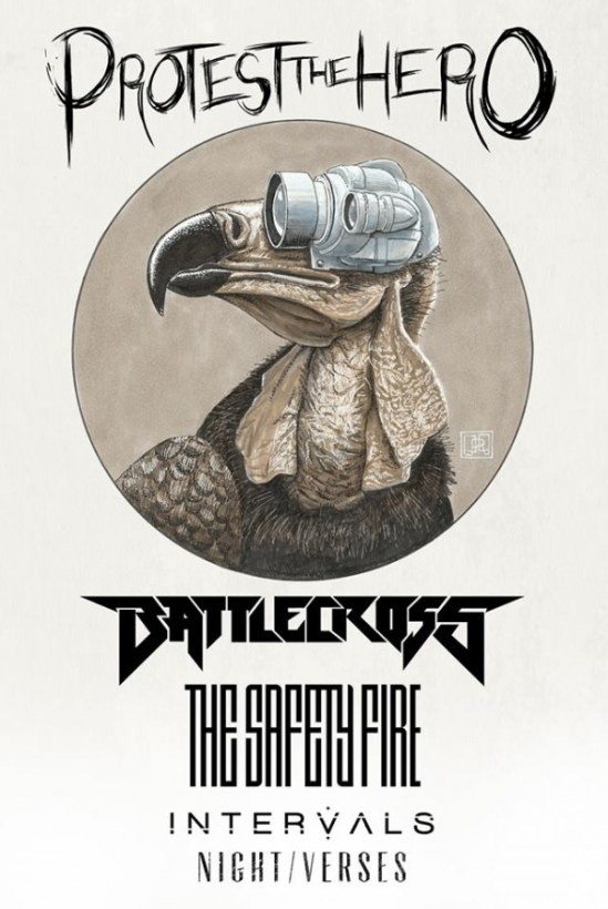 Protest the Hero North American Tour spring 2014