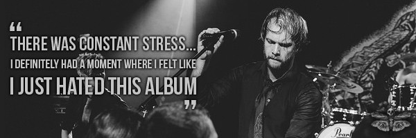 leprous interview stress