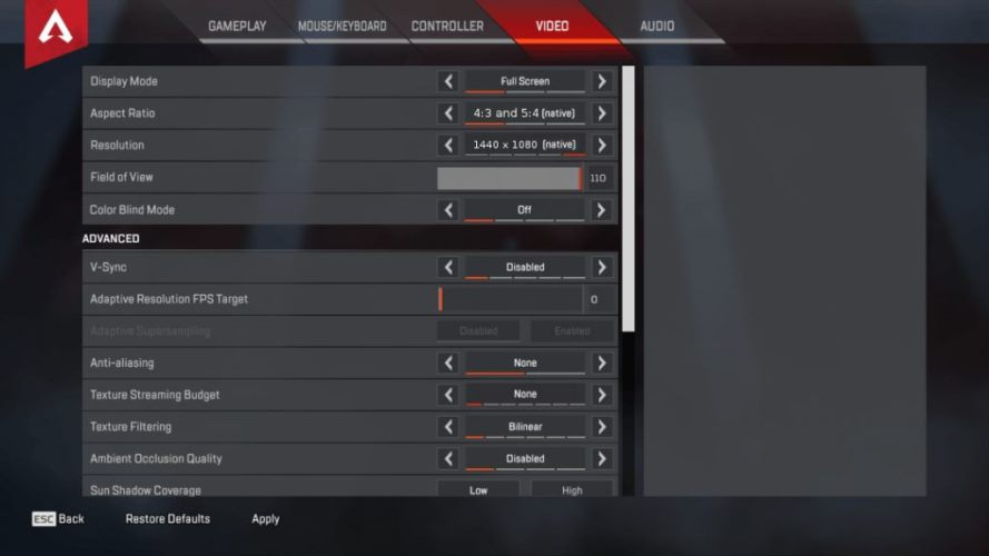 ImperialHal apex legends settings with keybinds & complete gear   HeavyBullets.com