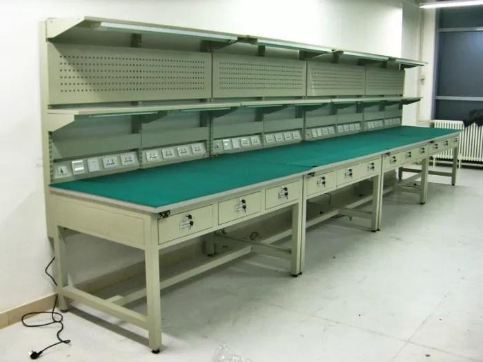 Bancadas industriais da gaveta e estaes de trabalho