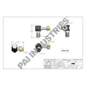 Mack Adapter, 119AX3709