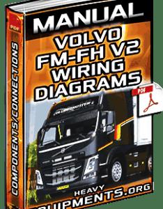 Volvo fm  fh  trucks wiring diagrams manual download also service components rh heavyequipments