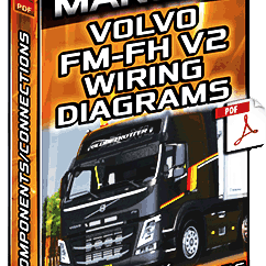 Volvo Wiring Diagram 220v Outlet Service Manual Fm Fh V2 Trucks Diagrams Components Download