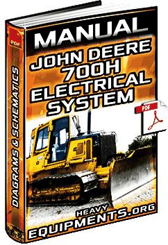 John Deere Radio Wiring Diagrams Manual Electrical System For John Deere 700h Crawler