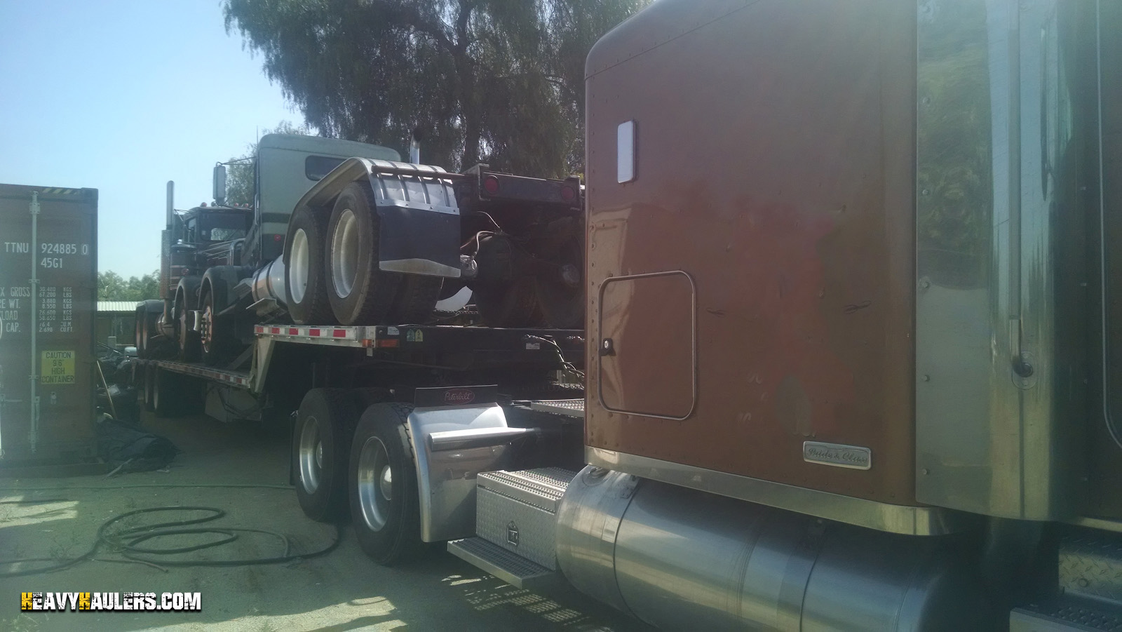 hight resolution of transporting peterbilt day cab shipping peterbilt day cab