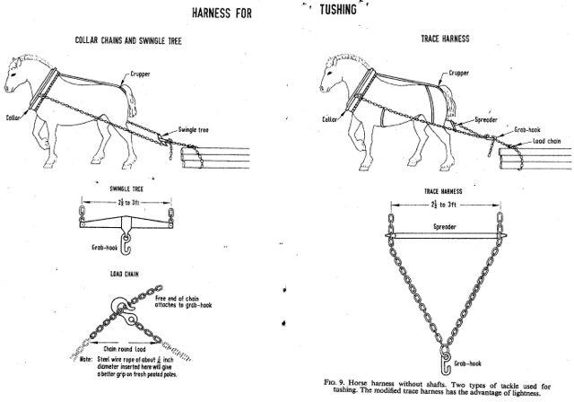 Horse logging equipment