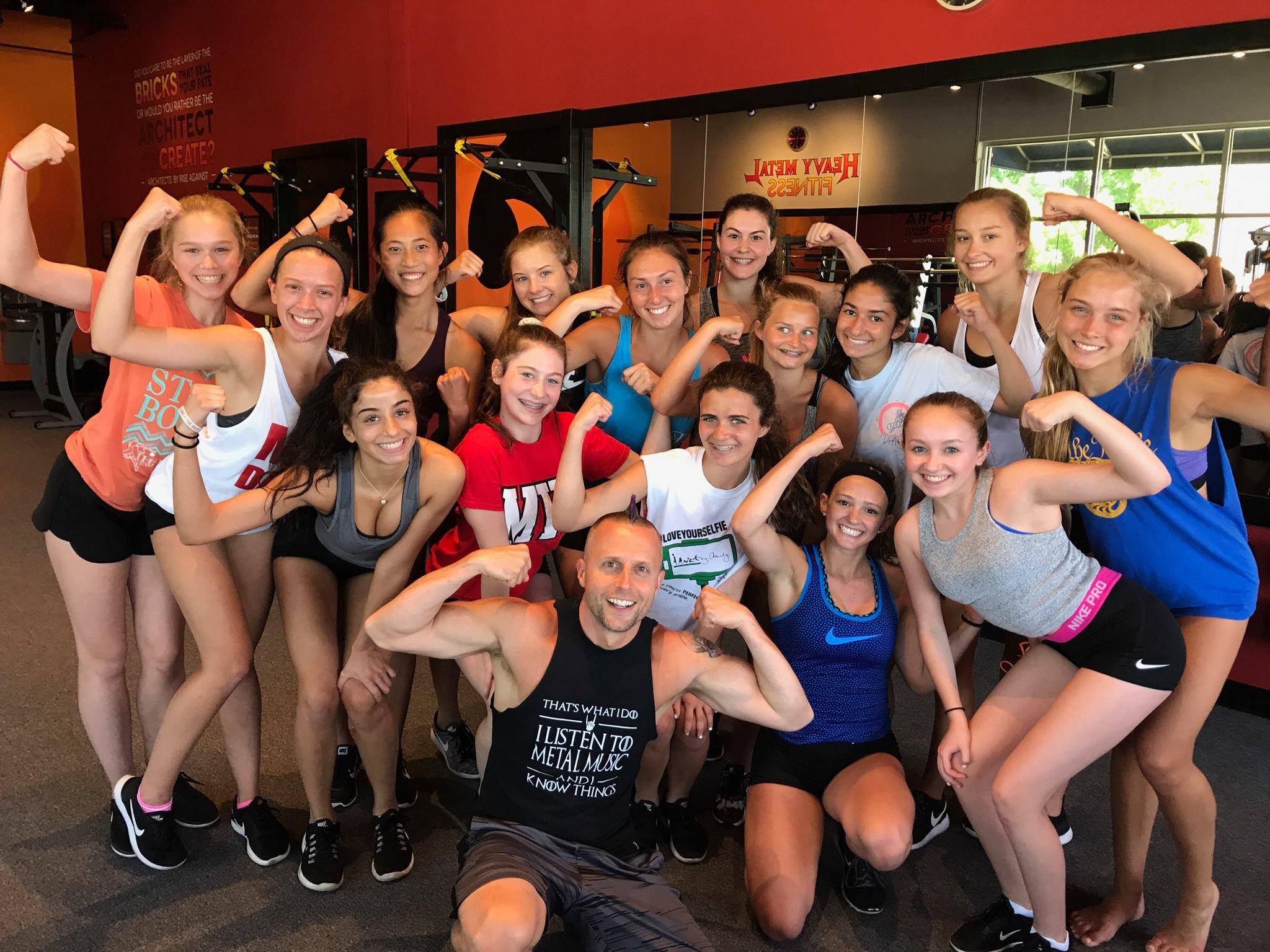 Student Athlete Team Training