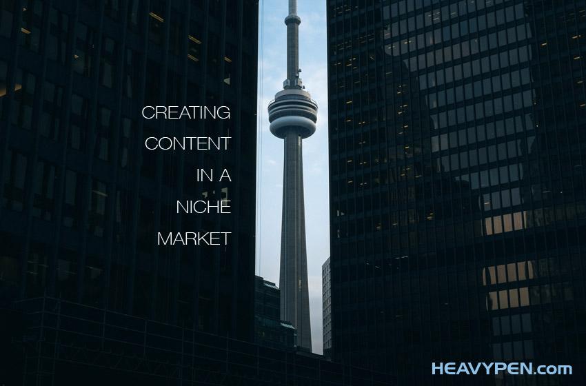 content for niche markets