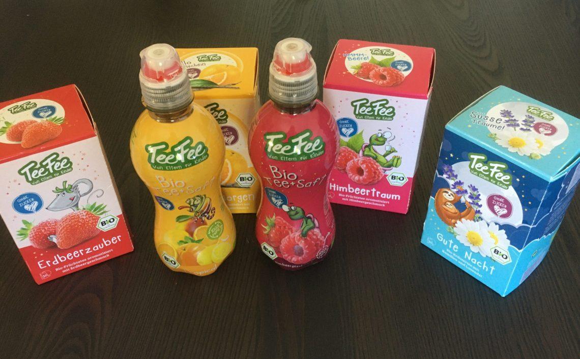 TeeFee gesunde Getränke für Kinder