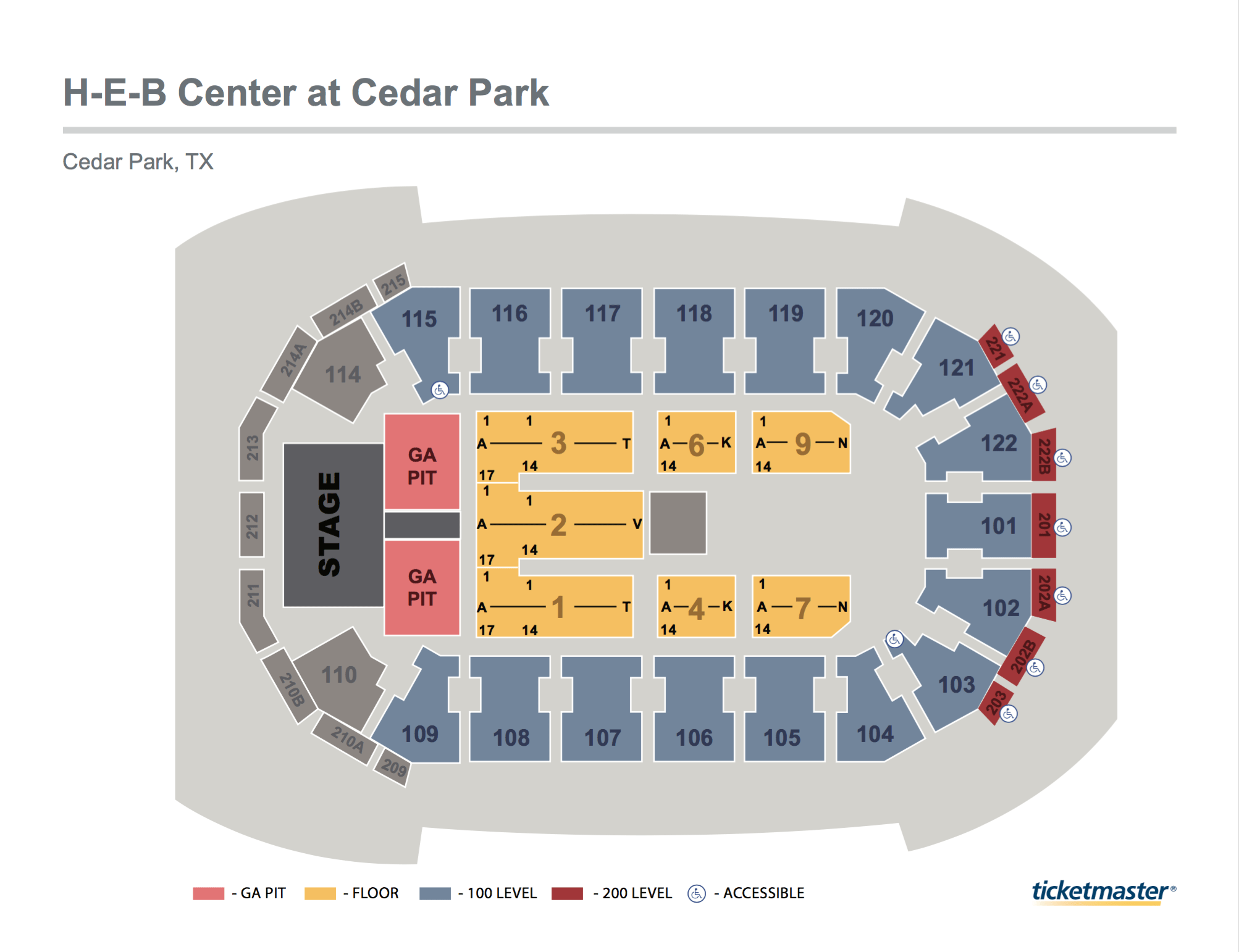 stage directions diagram phase converter wiring seating maps | h-e-b center