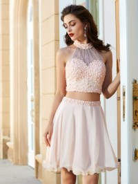 Two Piece Prom Dresses , Cheap 2 Piece Prom Dresses 2018 ...