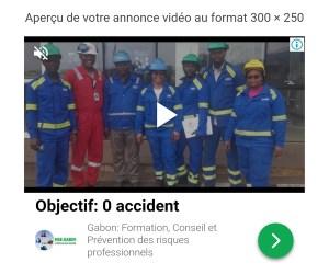 Aperçu Publicité Google vidéo
