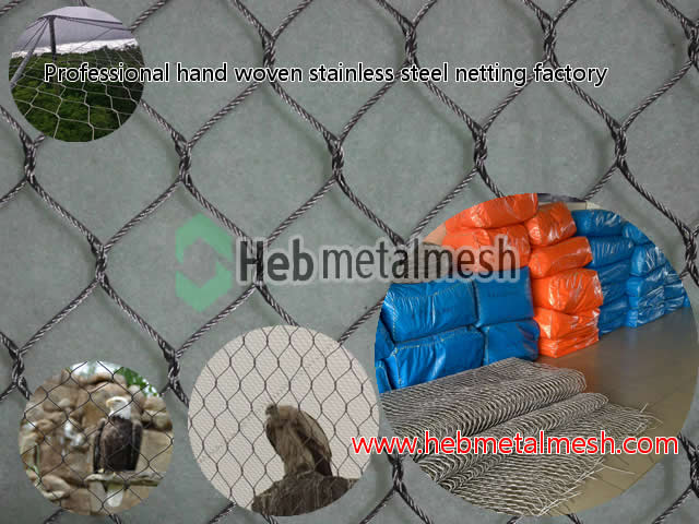 eagle fence, eagle enclosure mesh