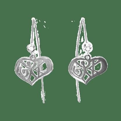 Love Earring Wire
