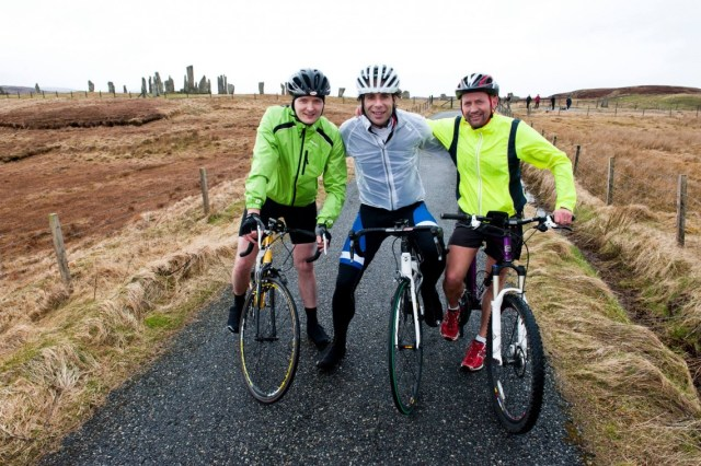 Mark Beaumont on Hebridean Way Cycling Route
