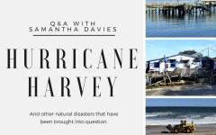 Hurricane Harvey: A Q&A with Samantha Davies