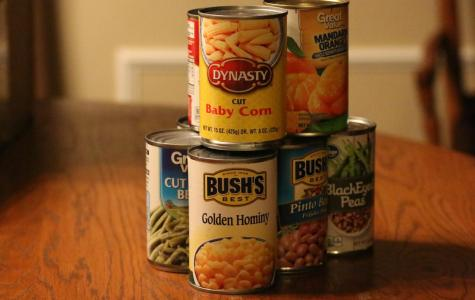 Student council hosts annual canned food drive