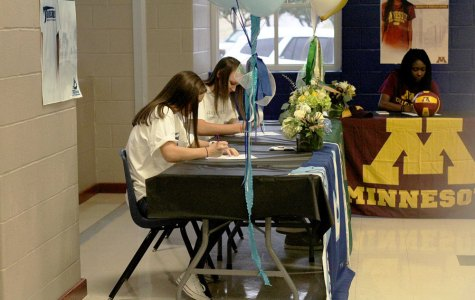 Photo Gallery: Volleyball Signing Day 11/8