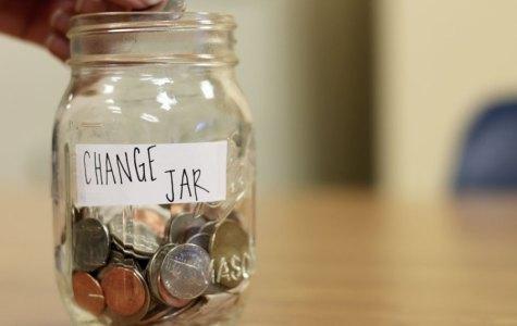 Change Jar: Childhood memorabilia