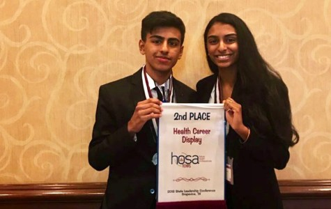 HOSA students advance to nationals