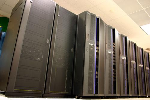 Photo of IBM POWER5+ system
