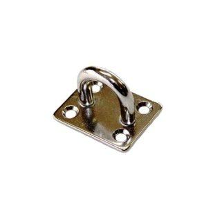 Deck Plate - SS316 4 Hole