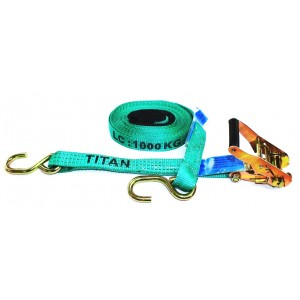 Tie Down - Titan Green Ratchet 1T x 6.5m S.HK