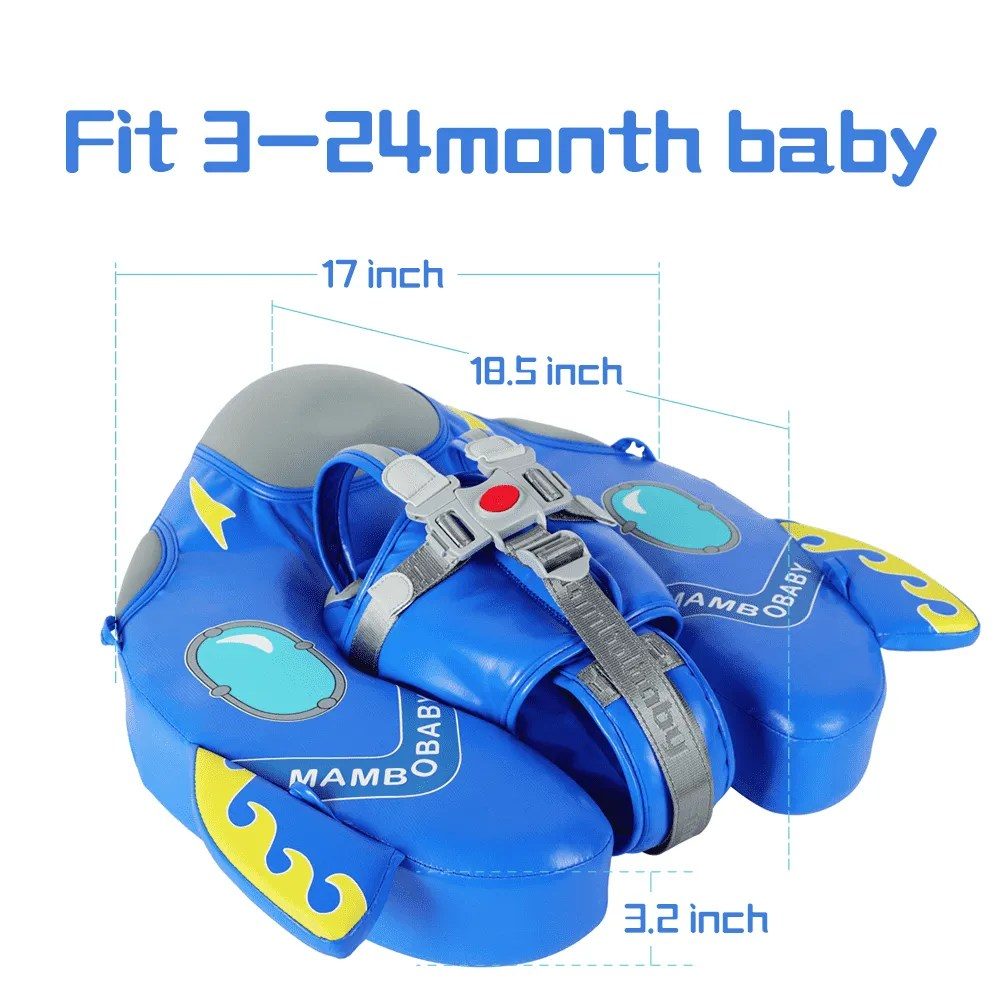 [Special Edition]Spaceship Mambobaby Swim Ring Float(Waterproof skin-friendly leather)
